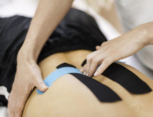 Fita kinésio: Saiba quando é indicado o uso dessa bandagem terapêutica