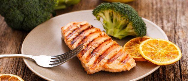 peixe grelhado   dieta dash   pressão alta   alimentos