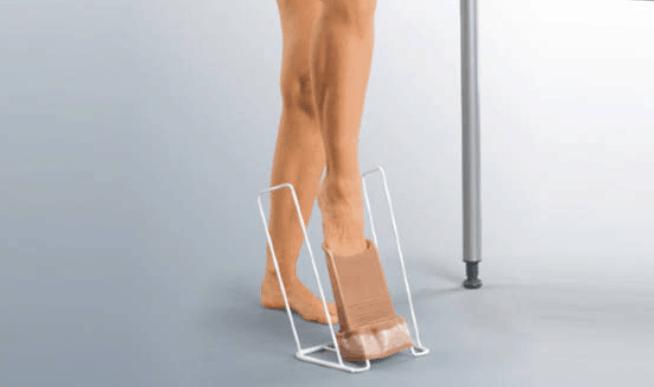 calçador de meia de compressão | Como vestir a sua meia de compressão