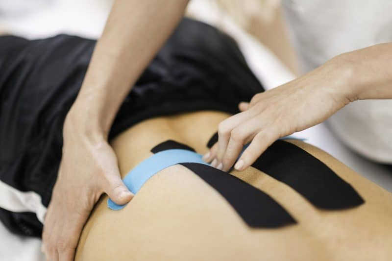 bandagem terapeutica | o que é fita kinesio