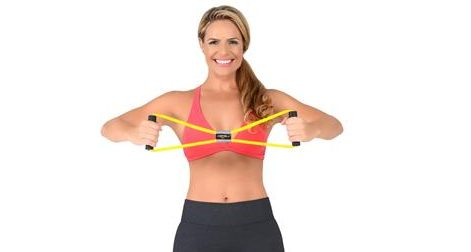 Elástico extensor: Confira 6 exercícios com elástico para o braço