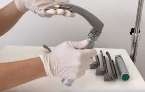 laringoscopio | tipos de lâminas | diferença entre lâminas reta e curva