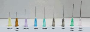 tamanhos de agulha | cores