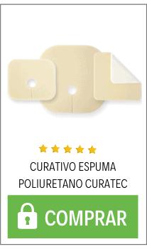 curativo de espuma poliuretano