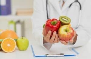 nutricionista usa estetoscopio