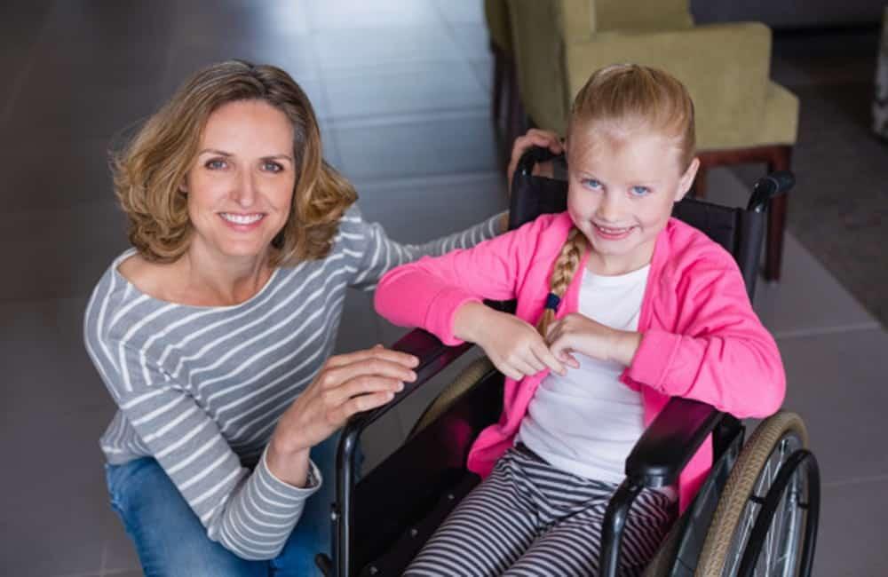 cadeira de rodas para criança