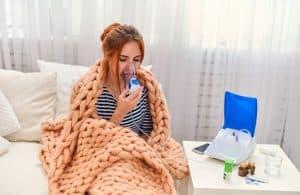 nebulização para sinusite