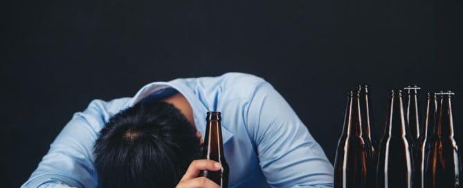 ajudar um alcoólatra depressivo